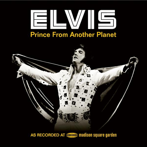 "This cover image released by RCA/Legacy shows the box set for Elvis Presley, ""Elvis: Prince From Another Planet."" (AP Photo/RCA/Legacy)"