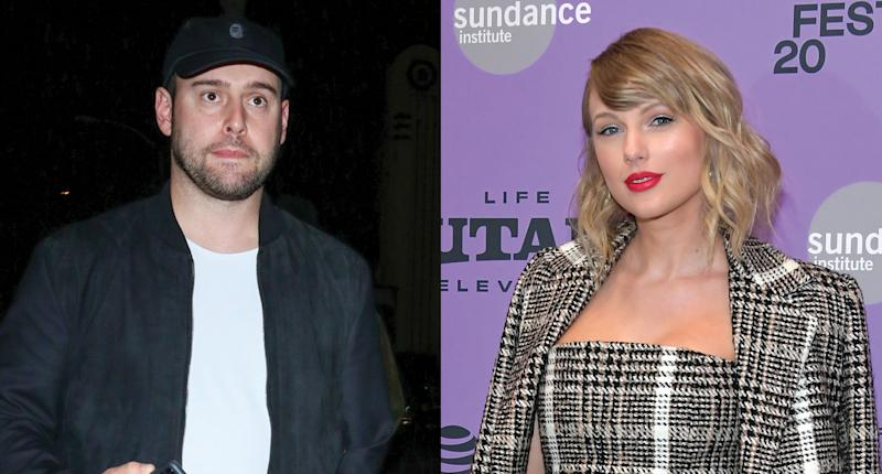 Scooter Braun says he faced death threats after a feud with Taylor Swift. (Photo: Getty Images)