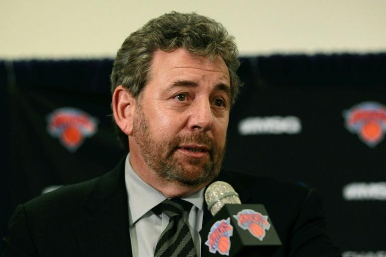 """New York Rangers owner James Dolan has been diagnosed with the new coronavirus but is showing """"little to no symptoms"""""""