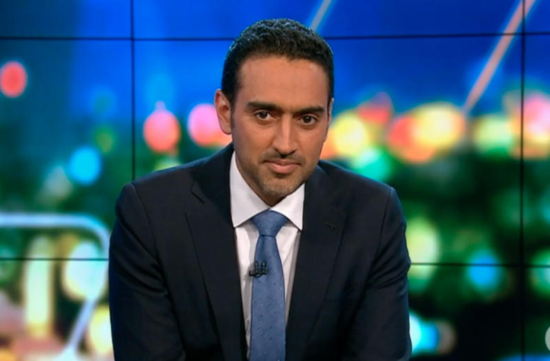 Waleed Aly on The Project panel