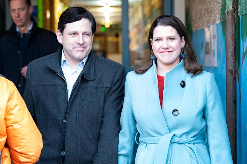 Jo Swinson, Liberal Democrat leader, is fighting to hold onto her East Dunbartonshire seat (AFP via Getty Images)