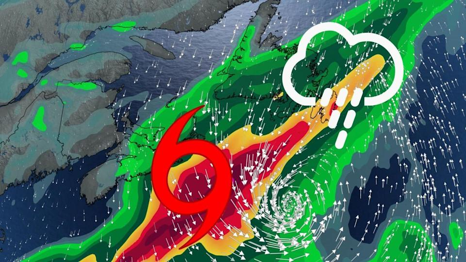 Odette now post-tropical, still set to bring strong winds, rain to Newfoundland