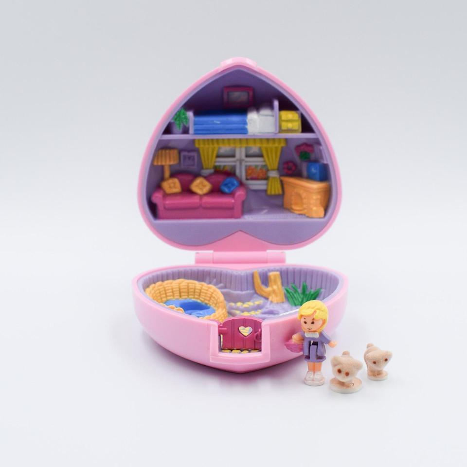 <p>Kids of the '90s <em>loved</em> Polly Pockets. So give them a vintage <span>Polly Pocket Kozy Kitten 1993</span> ($65)! </p>