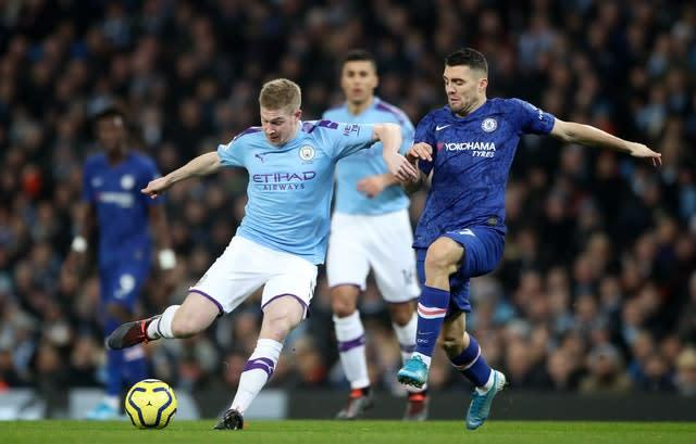 City cannot afford to drop points at Chelsea (Nick Potts/PA)