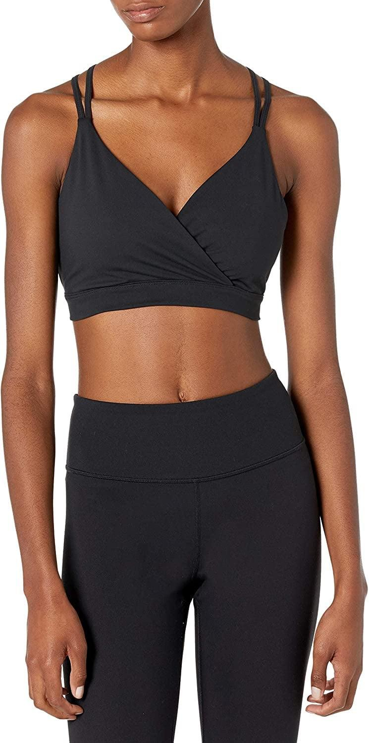 <p>Wear this lightweight yet stylish <span>Core 10 Women's Standard Spectrum Studio Strappy Back Yoga Sports Bra</span> ($28) on days where you are relaxing or focusing on stretching. It's moisture-wicking, ultra-soft, and very flattering.</p>