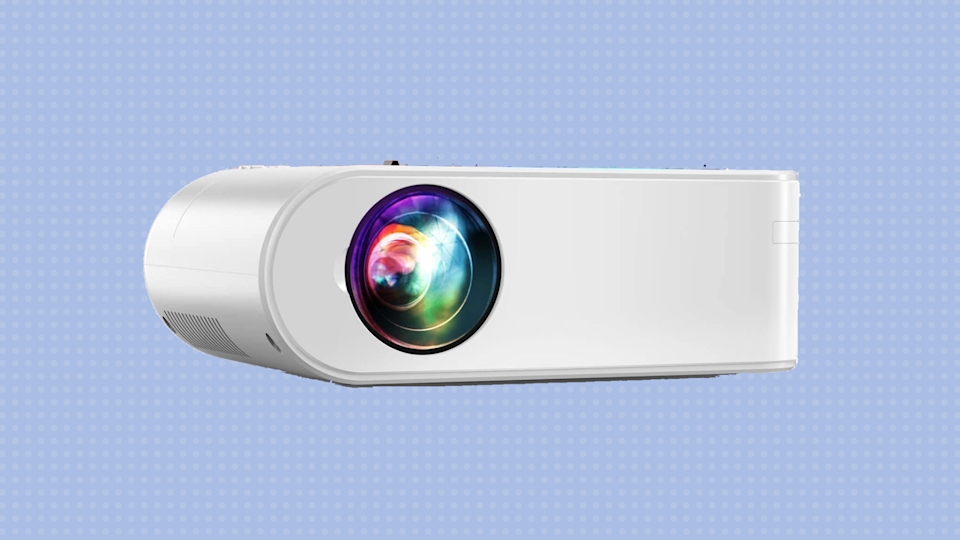 Save nearly 70 percent on the Yaber V2 Wi-Fi Mini Projector. (Photo: Amazon)
