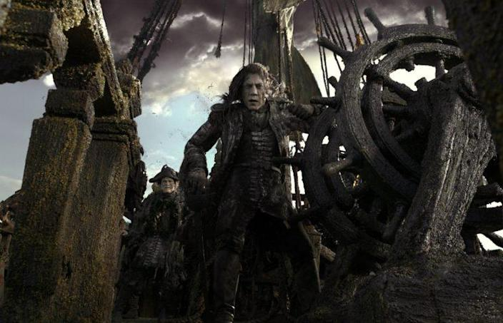 Mixed bag… POTC5 is not getting all that much love from the critics – Credit: Disney