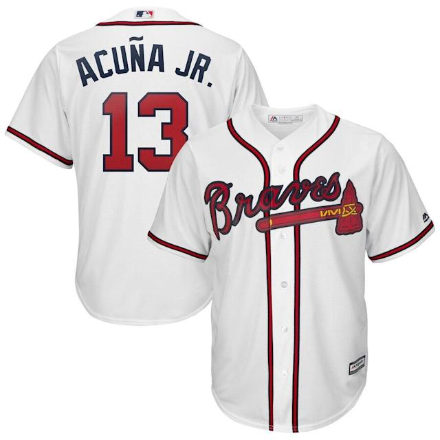 Acuña Jr. Braves Cool Base Player Jersey