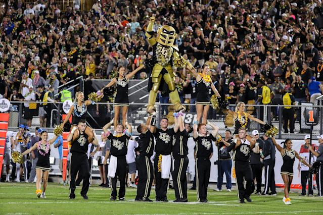 SEC commissioner Greg Sankey thinks that UCF needs to 'look inward' to boost its College Football Playoff stock. (Joe Petro/Getty Images)