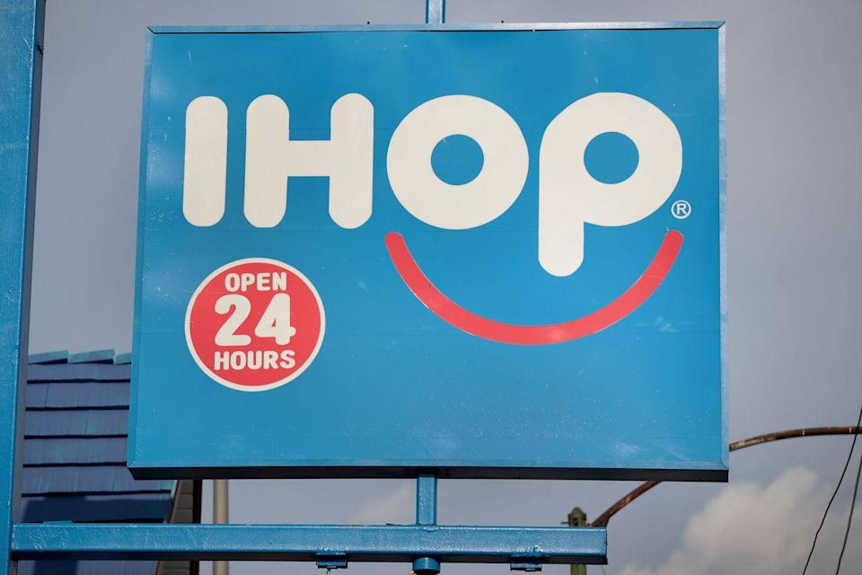 """<p>Early morning pancakes will give you the energy you need to get you through the day. Before you make the trek to Grandma's house, stop by a local <a href=""""http://www.ihop.com/"""" rel=""""nofollow noopener"""" target=""""_blank"""" data-ylk=""""slk:IHOP"""" class=""""link rapid-noclick-resp"""">IHOP</a> for pancakes, eggs, you name it. Even though most locations are normally open 24/7, hours might be reduced for the holiday. </p>"""