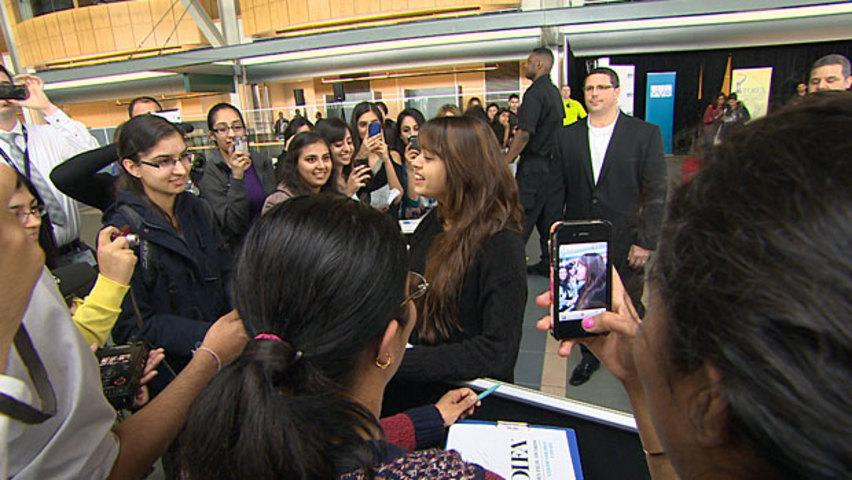 Some of India's biggest stars arrived in Vancouver for the Times of India Film Awards