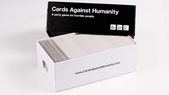 If you already own Cards Against Humanity, check out their amazing collection of card packs.