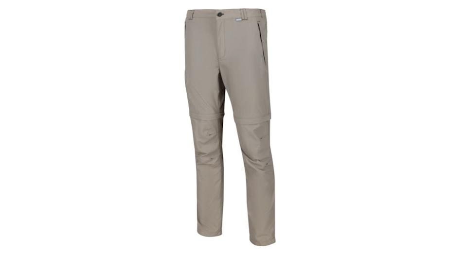 Leesville II Zip Off Walking Trousers Parchment