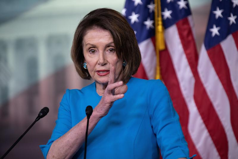 House Speaker Nancy Pelosi has said she's moving forward with a byzantine proposal to lower prescription drug prices. (Photo: NurPhoto via Getty Images)