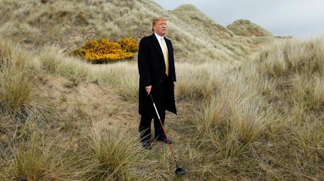 Donald Trump's Scottish golf resort may have so damaged sections of the country's famous dunes in Aberdeenshire that they may no longer merit special scientific status and conservation protections, according to a BBC documentary.