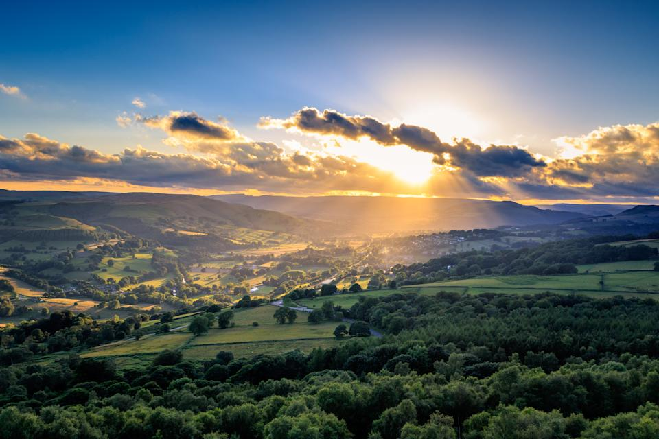 The Peak District National Park is only 30 minutes or so by car [Photo: Getty]