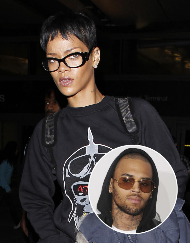 LOS ANGELES, CA - DECEMBER 12: Rihanna is seen at LAX Airport on December 12, 2012 in Los Angeles, California. (Photo by JB Lacroix/WireImage)Jeffrey Mayer/WireImage