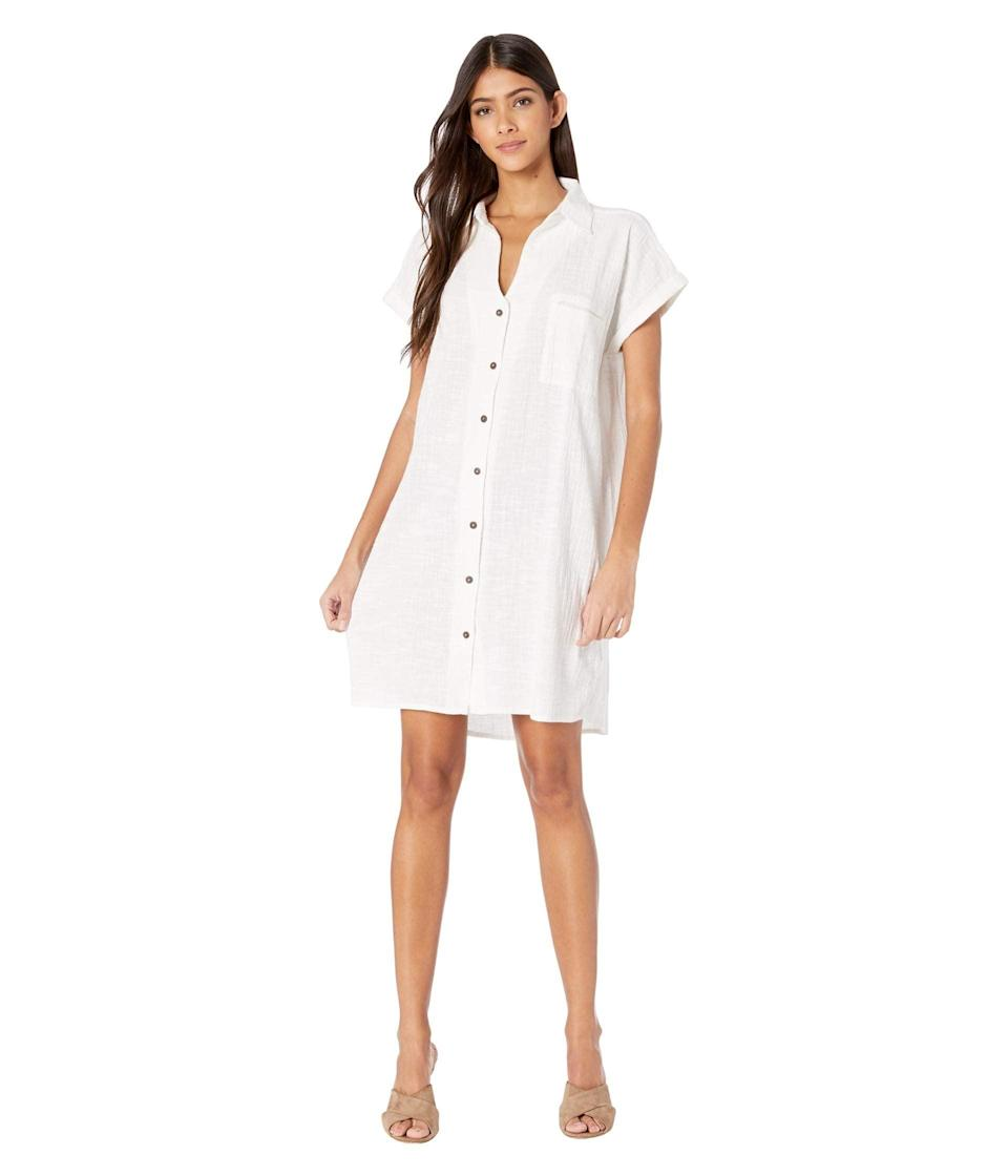 """<br> <br> <strong>Rip Curl</strong> The Adrift Dress, $, available at <a href=""""https://go.skimresources.com/?id=30283X879131&url=https%3A%2F%2Fwww.zappos.com%2Fp%2Frip-curl-the-adrift-dress-white%2Fproduct%2F9397261%2Fcolor%2F14"""" rel=""""nofollow noopener"""" target=""""_blank"""" data-ylk=""""slk:Zappos"""" class=""""link rapid-noclick-resp"""">Zappos</a>"""