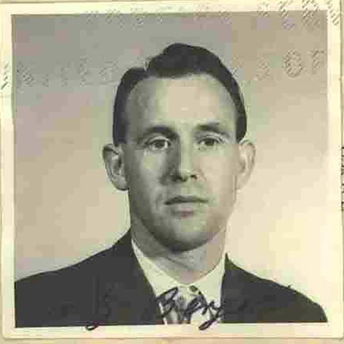 Berger at the time he immigrated to the US in 1959 - DOJ/via REUTERS