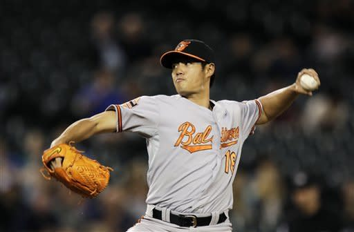 Teagarden lifts O's to 4-2 win over Seattle in 18