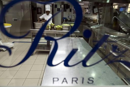 The kitchen at the Ritz in Paris is far removed from the food truck that Francois Perret has been trying out