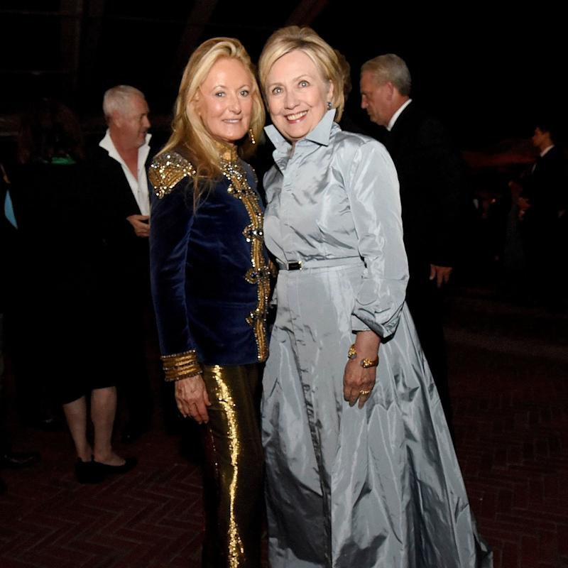 Hillary Clinton Was A Breath of Fresh Air at Ralph Lauren's 50th Anniversary Show