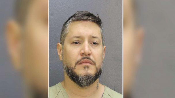 PHOTO: Adam Crespo of Hallandale, Florida, has been charged with second-degree murder in the bizarre stabbing death of girlfriend Silvia Galva. (Broward County Sheriff's Office)