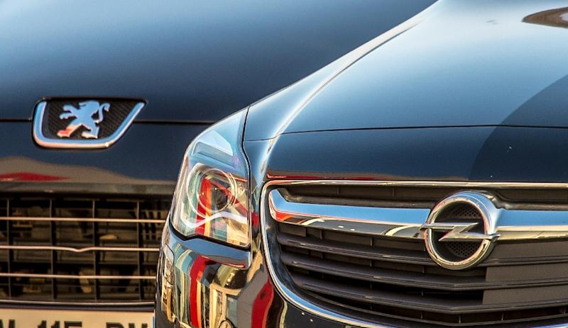 French carmaker PSA acquires General Motors' European subsidiary, which includes the Opel and Vauxhall brands, for 1.3 billion euros