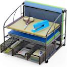 <p>The drawer in the <span>SimpleHouseware Desk Organizer</span> ($23) comes in handy for so many things. </p>