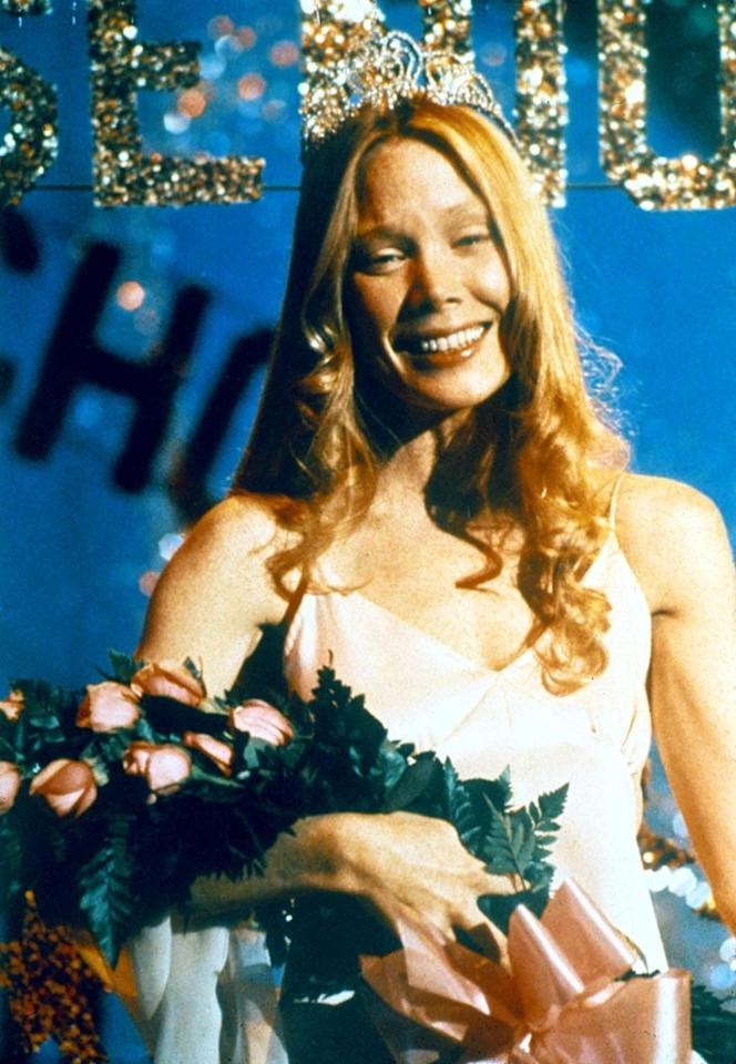"<a href=""http://movies.yahoo.com/movie/contributor/1800018610"">Sissy Spacek</a>, ""<a href=""http://movies.yahoo.com/movie/1800044667/info"">Carrie</a>""<br><br>Before <a href=""http://movies.yahoo.com/movie/contributor/1800024073"">Kathy Bates</a> bashed her way through a Stephen King adaptation in 1990's <a href=""http://movies.yahoo.com/movie/1800152650/info"">Misery</a>, Sissy Spacek captivated audiences with her portrayal of Carrie, a social outcast who takes telekinetic revenge on her popular peers after being doused in pig's blood at the prom."