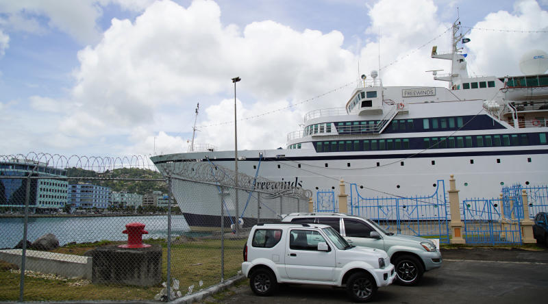Cruise ship quarantined for measles case heads to Curacao