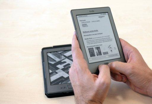 A Kindle e-reader. Prior to the introduction of Apple's iPad, online retail giant Amazon sold electronic versions of many new best sellers for $9.99