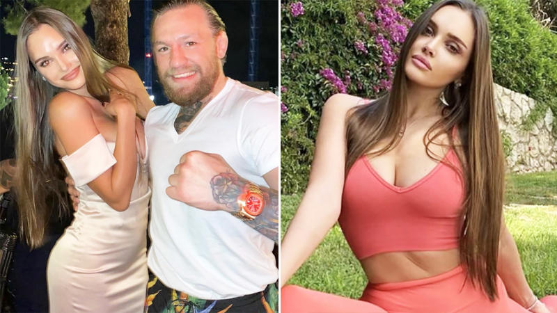 Karolina Sevastyanova and Conor McGregor, pictured here in the controversial photo.