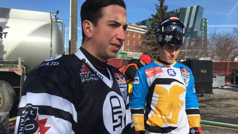 Red Bull Crashed Ice racers chomping at the bit to get on Edmonton track