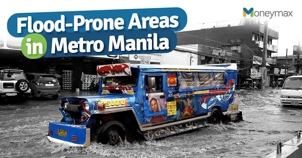 Flood-Prone Areas in Metro Manila and Nearby Provinces | Moneymax