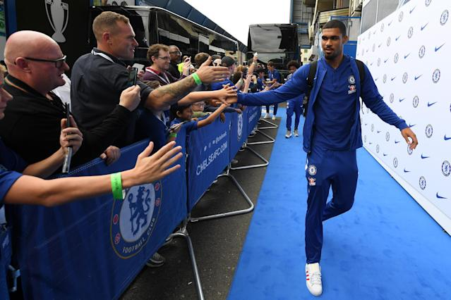 Ruben Loftus-Cheek was at Stamford Bridge for the clash with Arsenal, but not in the squad