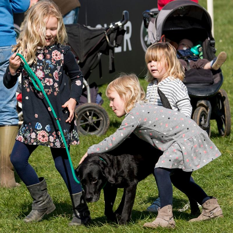 Savannah Phillips, Isla Phillips and Mia Tindall  - Credit:  GoffPhotos.com