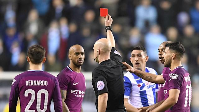 The 28-year-old's red card in a shock 1-0 defeat at Wigan seemed to enrage the manager, but the Catalan was accepting afterward