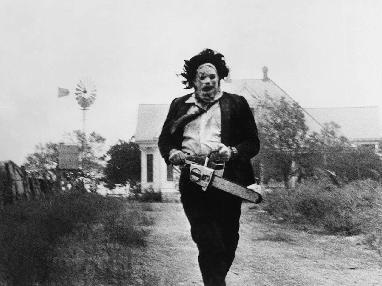 """<p>Writer-director Tobe Hooper definitely borrowed elements from Gein's story for the character of Leatherface in <a href=""""https://www.popsugar.com/entertainment/Texas-Chainsaw-Massacre-True-Story-43895749"""" target=""""_blank"""" class=""""_e75a791d-denali-editor-page-rtfLink ga-track"""" data-ga-category=""""Related"""" data-ga-label=""""https://www.popsugar.com/entertainment/Texas-Chainsaw-Massacre-True-Story-43895749"""" data-ga-action=""""In-Line Links""""><strong>The Texas Chainsaw Massacre</strong></a>. While there was no cannibalistic family in Gein's case, Gein also had skin masks and decor made from human body parts. Like Leatherface, Gein was also easily controlled by his family, especially his mother.</p>"""
