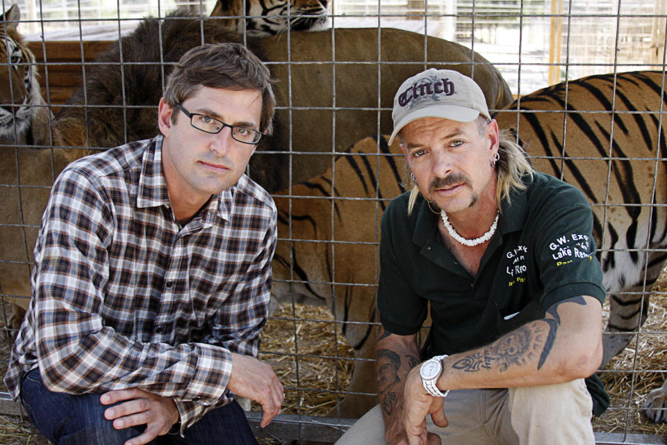 Archive Still from Louis Theroux: America's Most Dangerous Pets 2011(BBC)