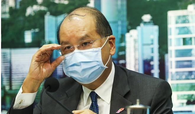 Chief Secretary Matthew Cheung supports the decision to remove the teacher. Photo: Edmond So