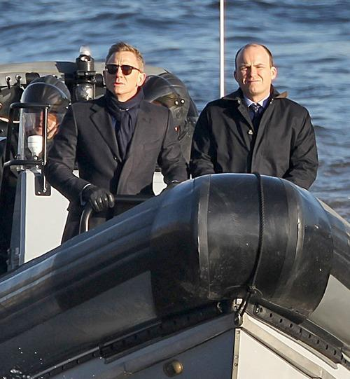 SPECTRE: First Look At Daniel Craig In New James Bond Film
