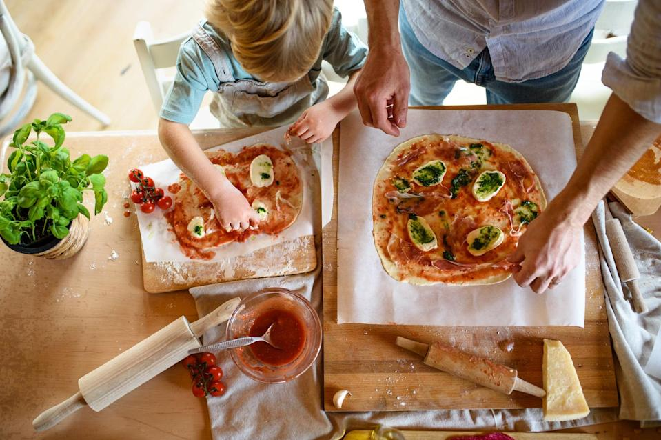 """<p>Lisa also took the time with her family during the pandemic to """"make pizza well,"""" and re-create special family traditions like an at-home Benihana-style dinner cooked by her partner for her daughter's birthday.</p>"""