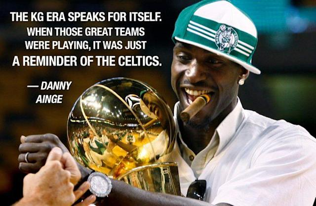 Kevin Garnett delivered on the promise he represented. (AP)