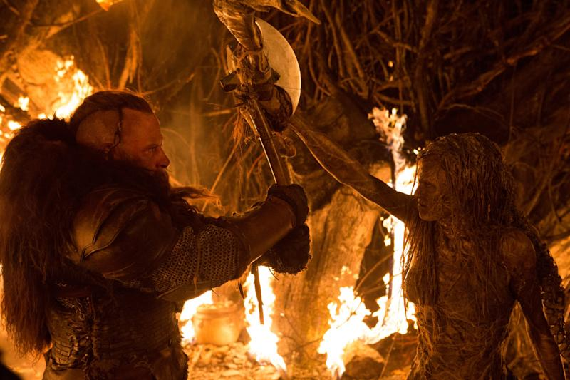 Vin Diesel faces the forces of evil in The Last Witch Hunter. (Summit)