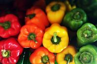 <p>The skin of the peppers loses its crunch when stored at low temperatures. </p>