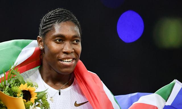 "<span class=""element-image__caption"">Caster Semenya will be fighting at the Court of Arbitration for Sport for her right to compete internationally without unnecessary medical intervention.</span> <span class=""element-image__credit"">Photograph: Fabrice Coffrini/AFP/Getty Images</span>"