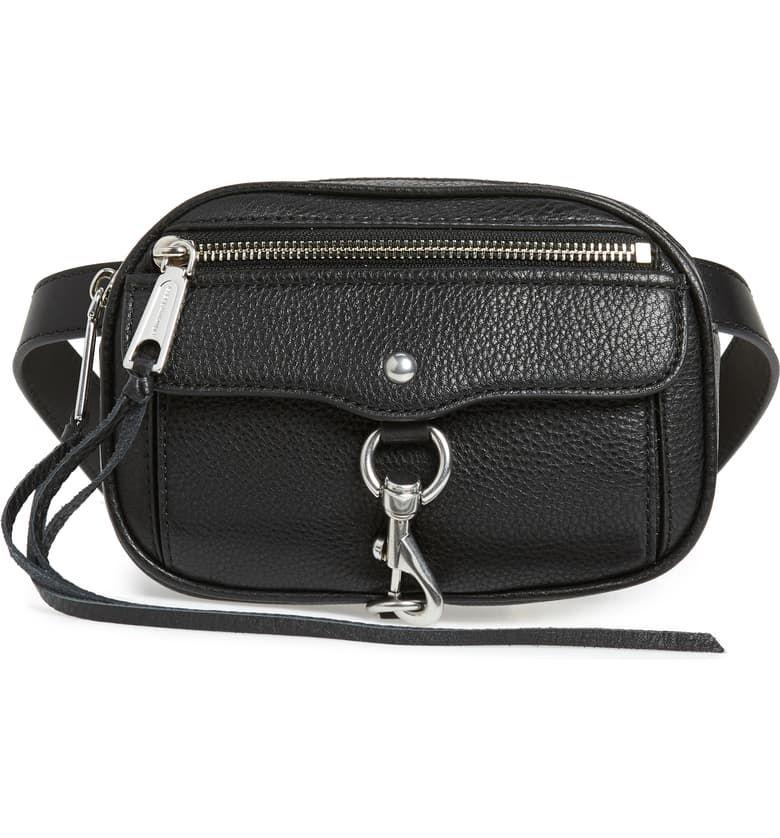 """<p><strong>REBECCA MINKOFF</strong></p><p>nordstrom.com</p><p><strong>$195.00</strong></p><p><a href=""""https://go.redirectingat.com?id=74968X1596630&url=https%3A%2F%2Fshop.nordstrom.com%2Fs%2Frebecca-minkoff-blythe-leather-belt-bag%2F4952790&sref=http%3A%2F%2Fwww.townandcountrymag.com%2Fstyle%2Ffashion-trends%2Fg22577349%2Fdesigner-fanny-packs%2F"""" target=""""_blank"""">Shop Now</a></p><p>Rebecca Minkoff's casual cool silhouette updated in a belt bag. </p>"""