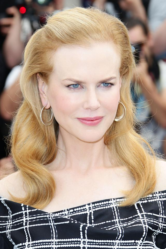 "CANNES, FRANCE - MAY 25:  Actress Nicole Kidman poses at the ""Hemingway & Gellhorn"" photocall during the 65th Annual Cannes Film Festival at Palais des Festivals on May 25, 2012 in Cannes, France.  (Photo by Vittorio Zunino Celotto/Getty Images)"