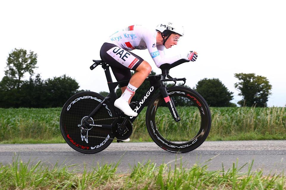 <p><strong>Who's Winning the Tour?</strong></p><p>Van der Poel doesn't have a strong time trial resume, and today's stage was both the longest TT he's ever done and under the biggest spotlight. But he rose to the occasion with solid pacing throughout, hovering between 2nd and 5th at every time check. While his overall lead over Pogačar dwindled to just eight seconds, simply staying in yellow another day is a massive accomplishment for a rider whose main objective this year is actually in a few weeks at the Tokyo Olympics, where he'll race the mountain bike event.</p><p><strong>Who's Really Winning the Tour?</strong></p><p>No one had a better day than Pogačar, who was fastest at every intermediate time check and gained time—often a lot—on all his challengers. The soonest Pogačar is likely to take yellow is Friday's unusually long stage, but barring a crash or some major mishap, it's almost a sure thing he'll be in the race lead this weekend when the race goes into the Alps.</p><p>Elsewhere, contenders have to be asking themselves where are the cracks in Pogačar's armor. His closest real rival on time is EF Education-Nippo's Rigoberto Uran, who is almost a minute and a half behind before the mountains even start, and Pogačar is one of the best climbers in the world. INEOS's Richard Carapaz and last year's runner-up, Primož Roglič of Jumbo-Visma, are around 1:40 back, and things get more grim from there; there are only five more GC hopefuls within three minutes of Pog on the overall classification. Some of them, like Roglic and INEOS's Geraint Thomas, are dealing with injuries from crashes in the opening stages. There are two possibilities for the coming weeks: Pogačar didn't lead last year's Tour until the final day, so he never had to defend yellow, and his team is a question mark in terms of strength. And, Pog is clearly flying right now, but there are more than two weeks left to race. If his form peaked too early, rivals may be able to gain back time late in the ra